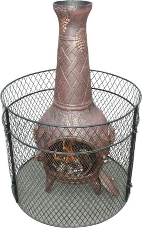 Chiminea Safety buy the basketweave cast iron chiminea from the largest range of cast iron chimineas uk