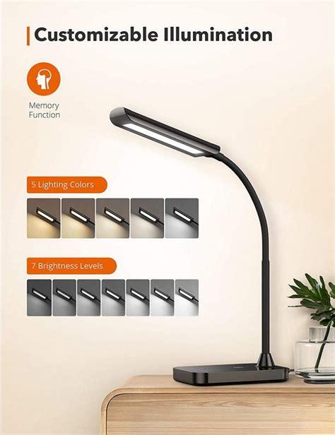 taotronics led desk lamp tt dl flexible gooseneck lamp