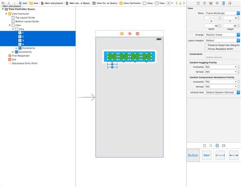 xcode set layout constraints constraints to be set for x position xcode