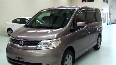 Nissan Serena 20s 2006 8 Seater 2 0l Youtube