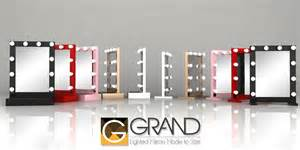 Broadway Vanity Grand Mirrors Lighted Table Top Mirrors Hello Miss Niki