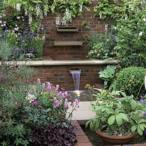 garden with water feature garden design housetohome co uk