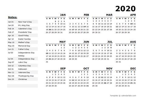 year calendar template   holidays  printable templates