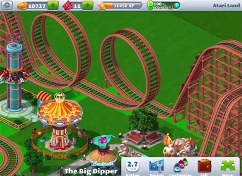 rollercoaster tycoon 4 mobile rollercoaster tycoon 174 4 mobile for pc