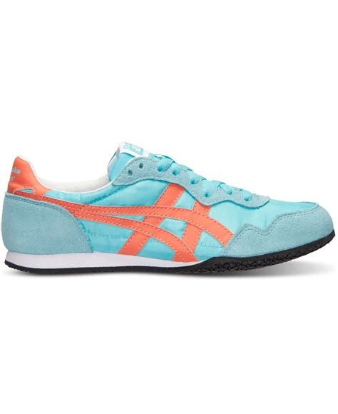 Asic Tiger Onitsuka Casual For 02 asics s onitsuka tiger serrano casual sneakers from finish line in blue lyst