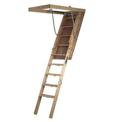 attic ladders ladders the home depot