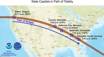 noaa reveals cloudiness map for historic 2017 eclipse