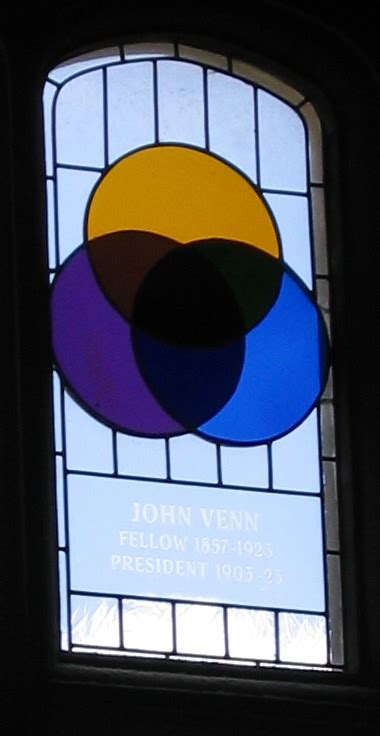 who invented the venn diagram file venn stainedglass gonville caius jpg wikimedia commons