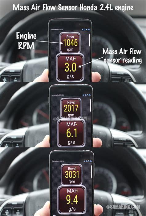 mass air flow sensor maf   works symptoms