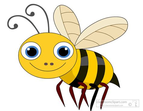 Bugs clipart bee - Pencil and in color bugs clipart bee Insect Drawings Clip Art