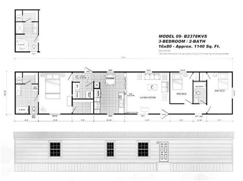 16x80 mobile home floor plans new 16x80 mobile home floor plans new home plans design