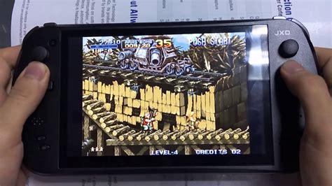 mame arcade console jxd s7800b handheld console metal slug 1 fba mame