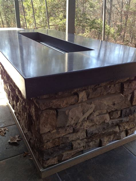 Polished Concrete Countertop by Polished Concrete Countertops Decorative Concrete Of