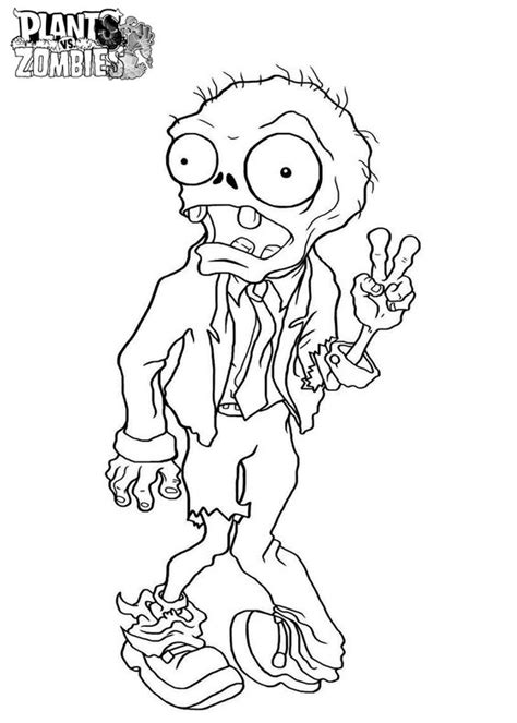 free printable coloring pages zombies free printable plants vs zombies coloring pages for