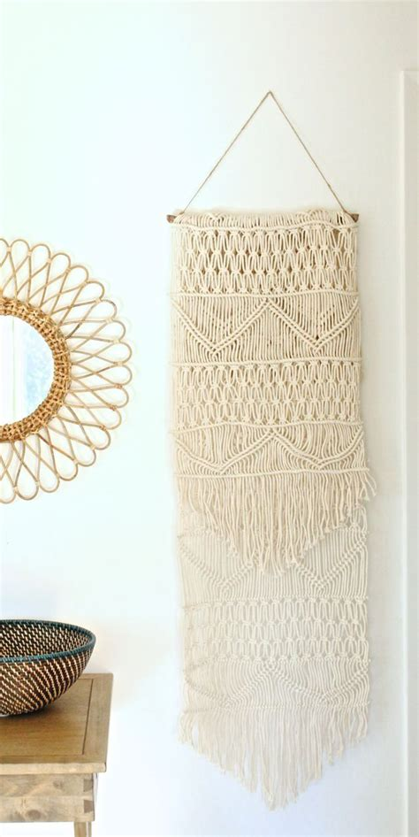 Diy Macrame Wall Hanging - easy diy macrame wall hanging home decor