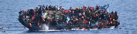 refugee c boat two refugee boats capsize in 24 hours off libya coast