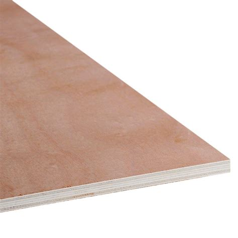 home depot paint grade plywood 1 2 in x 4 ft x 8 ft bbcc golden virola plywood 99483