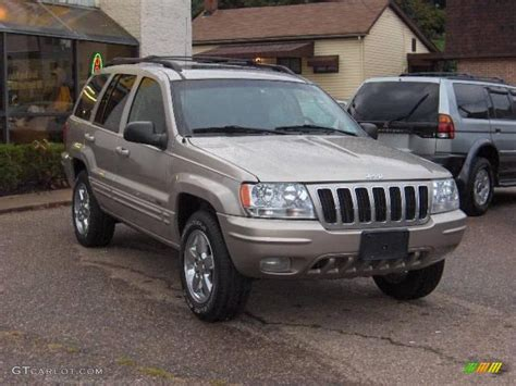 light gray jeep 2003 light pewter metallic jeep grand cherokee limited 4x4