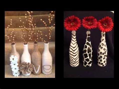 homemade diy glass bottle art pics  home decor ideas