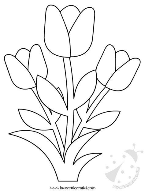 fiori primavera da colorare decorazioni primavera con fiori