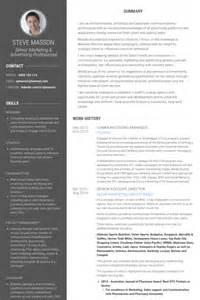 Communications Resume Exles by Communications Manager Resume Sles Visualcv Resume Sles Database