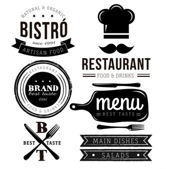 Restaurant Logo Vectors, Photos and PSD files   Free Download
