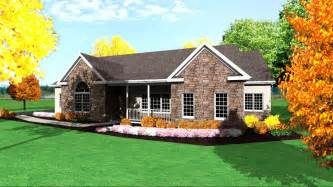 One Floor Homes by One Story Ranch House Plans 1 Story Ranch Style Houses