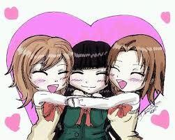 imagenes locas kawaii resultado de imagen para dibujos para tres amigas