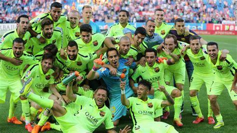 Calendrier Liga Barcelona Barcelona Defeat Atletico Madrid To Claim La Liga Title