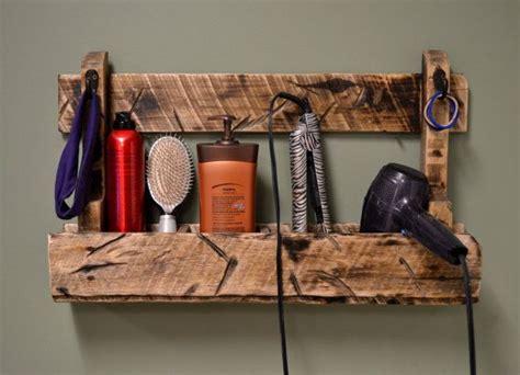 Diy Wall Mount Hair Dryer Holder hair dryer rack styler straightener curler stall by
