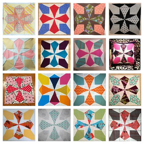 collage pattern ideas february brings a new block a new house