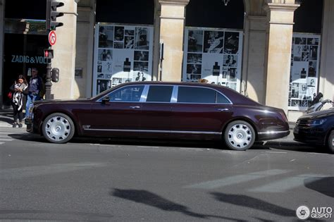 bentley mulsanne limo bentley mulsanne grand limousine 5 october 2016 autogespot