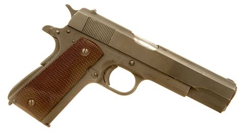 deactivated wwii us colt 1911a1 allied deactivated guns