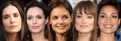 celebrity face meaning the basics faceshapes know yours in a heartbeat get