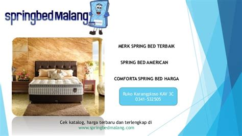 Kasur Bed Kota Malang kasur springbed malang
