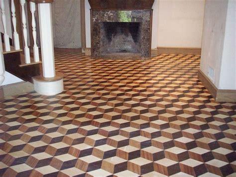 inlaid wood floor homes floor plans