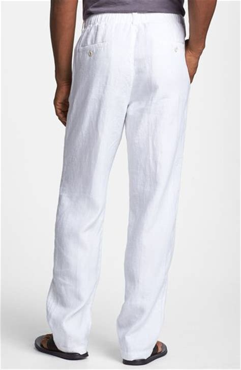 Tommy Bahama New Linen On The Beach Pants in White for Men   Lyst