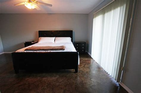 stained concrete bedroom 89 best images about cool concrete crafts for our new