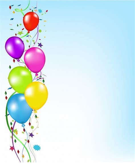 20 Free Party Backgrounds Birthday Invitation Background Templates