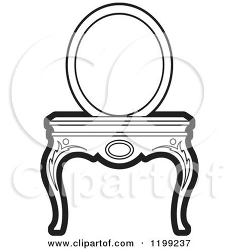 Vanity Page by Royalty Free Rf Dressing Table Clipart Illustrations Vector Graphics 1