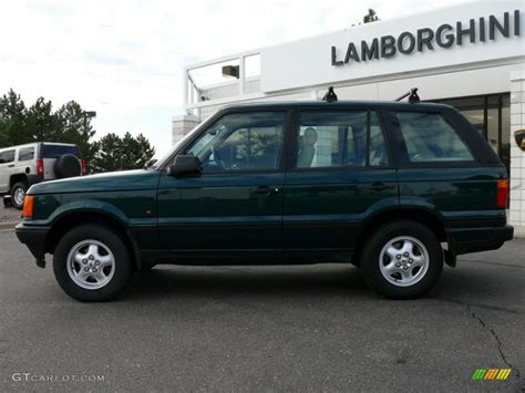 british range rover 1997 british racing green metallic land rover range rover