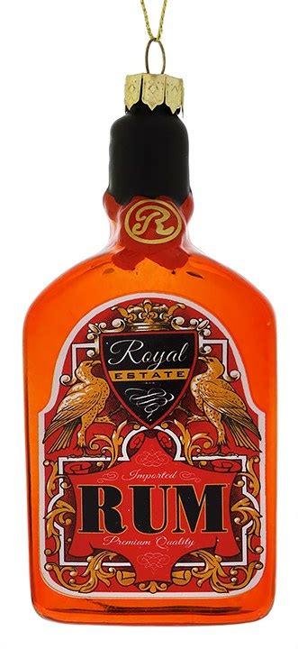 rum bottle xmas tree rum bottle ornament by kurt adler traditions