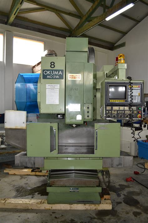 okuma mc va cnc vertical milling machine exapro