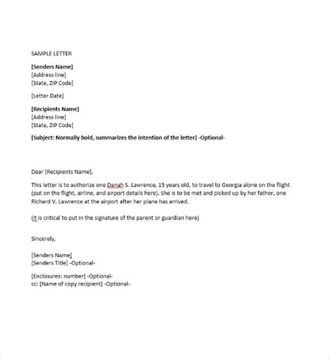authorization letter template word 40 authorization letter sle templates free pdf word