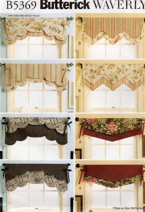 valance curtain patterns to sew pinterest the world s catalog of ideas