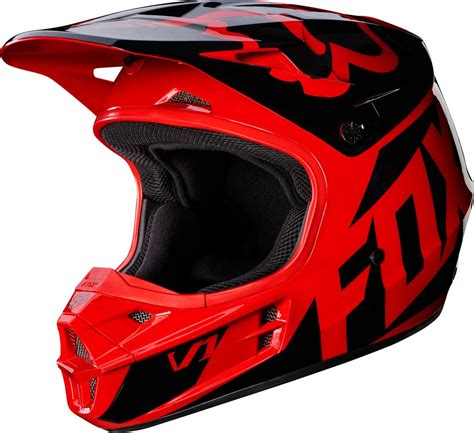 fox v1 motocross helmet fox racing mens v1 race dot approved motocross mx helmet