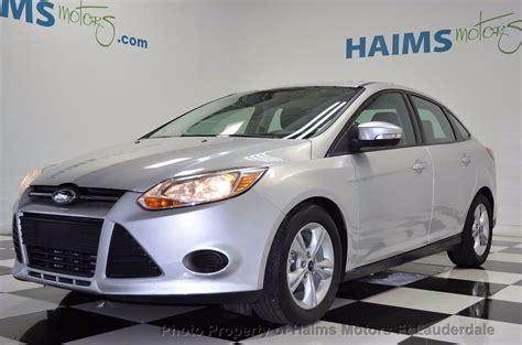 ford focus 2014 sedan 2014 used ford focus 4dr sedan se at haims motors serving