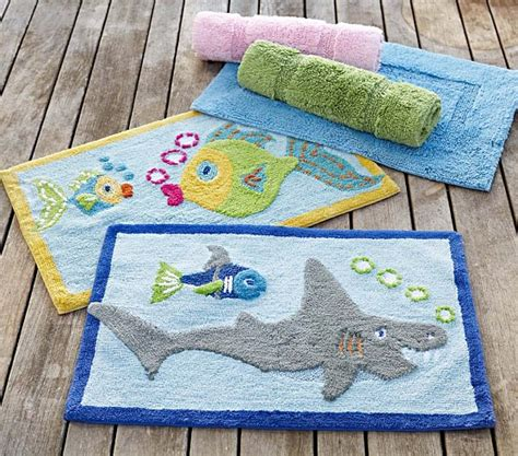 kids bathtub mats fish bath mat pottery barn kids