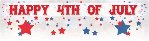 Waterford Lakes Announcements Waterford Lakes Email Bulletin July 2016 Happy 4th Of July Email Template