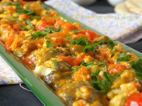recette de cuisine alg駻ienne chakchouka chakchouka aux poivrons et oeufs le cuisine de samar